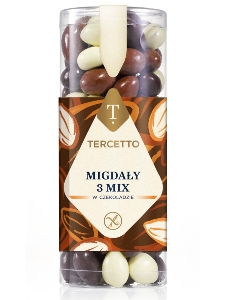 TERCETTO Almonds in chocolate 3 mix