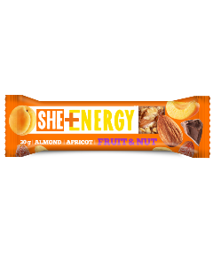 She + Energy Almond Apricot bar
